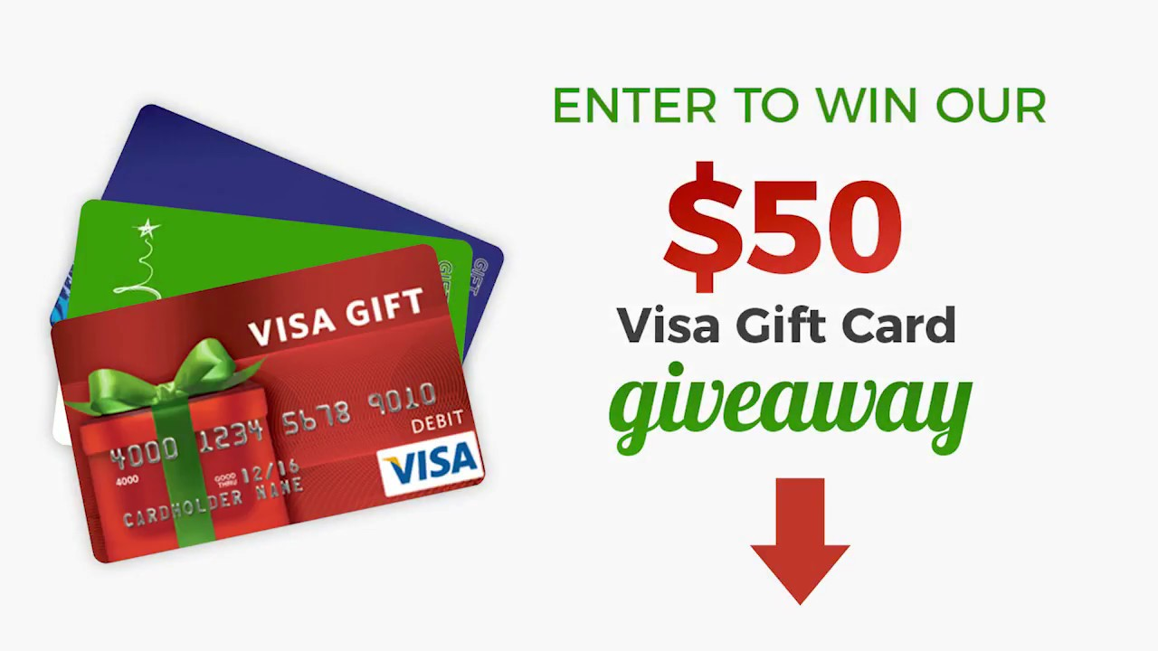 12 Days of Christmas Gift Card Giveaway - YouTube