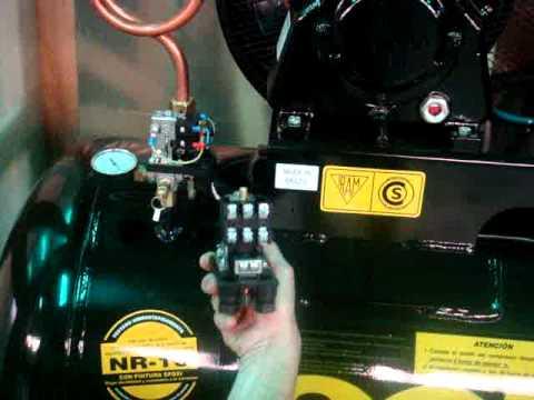 Reemplazo de presostato en compresor schulz youtube for Compresor hidroneumatico