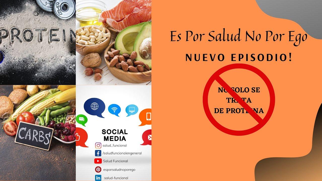 Podcast 4 - No solo se trata de proteína.