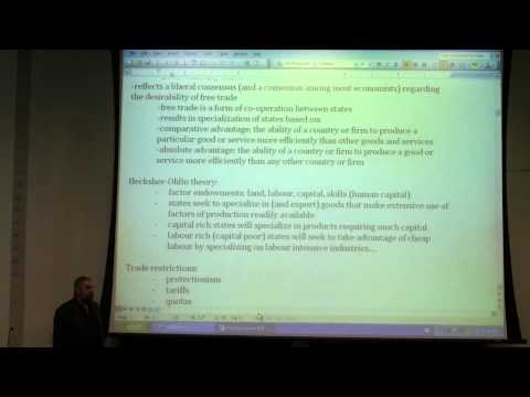 POL208Y1 lecture #15: International Political Economy, cont.: Trade (part 2)