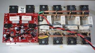 500W Power Amplifier SOCL 504 test - Bass Empuk treble ngecis