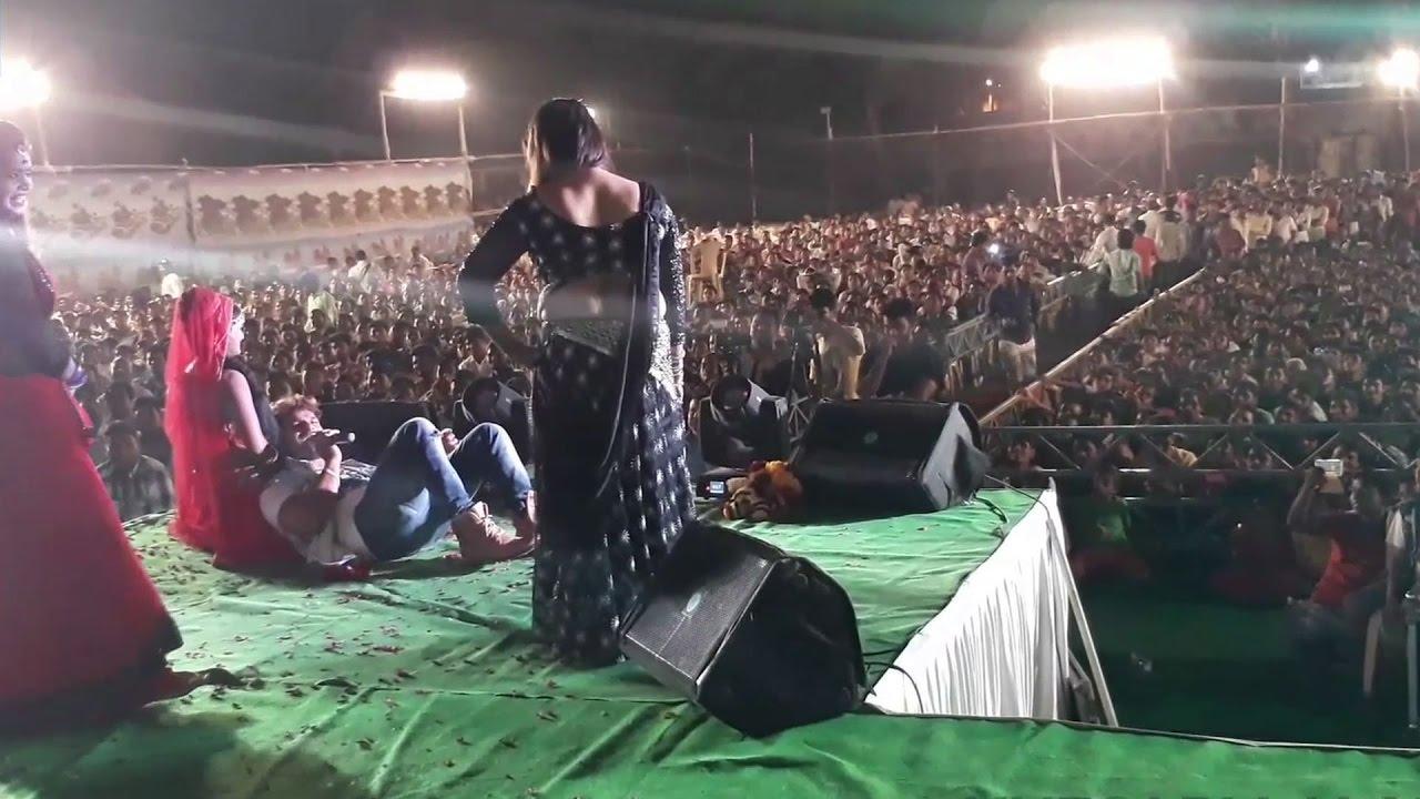 Download Superstar Khesari Lal yadav    Live Performance Bhyander Part 12   Arkestra Stage Show 2017