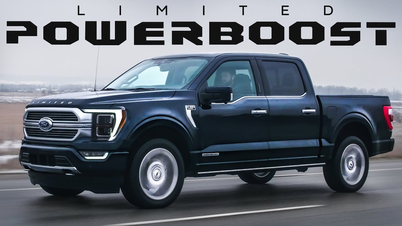 Download 2021 Ford F-150 POWERBOOST Review - INCREDIBLE!