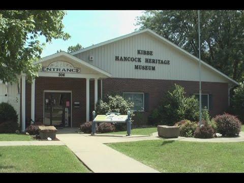 Dew Days of Summer: Kibbe Hancock Heritage Museum in Carthage, Illinois