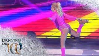 Aleksandra Bechtel liefert mit 80s-Charme die beste Kür | Dancing on Ice | SAT.1 TV