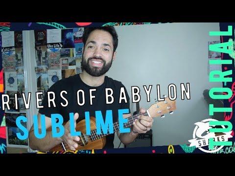 Rivers Of Babylon Sublime Ukulele Tutorial Youtube