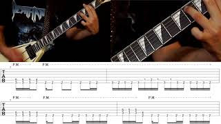 EXMORTUS - FEAST OF FLESH (Guitar Instruction)