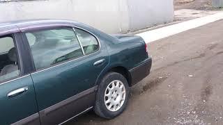 Видео-тест автомобиля Nissan Cefiro (A32-401562, Vq20de, 1997г)