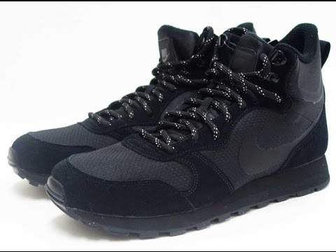 1cd72a114f089 Nike MD Runner 2 Mid Premium - Official Review 844864 002 (Black/Black)