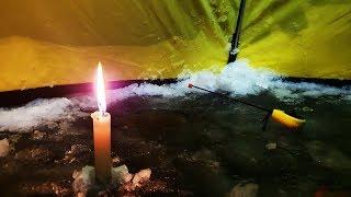Зимняя рыбалка 2020 рыбалка в палатке НАПАЛА СТАЯ ГОЛОДНЫХ