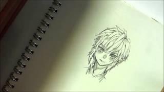 SKYWARD SWORD Link (pencil drawing)