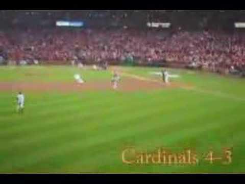 Cardinals 2006 World Series Game 4