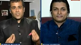 Chetan Bhagat vs Rahul Easwar ; Indian Govt regulating Porn ? - India Today