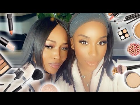 NAOMI CAMPBELL GETS GLAM WITH ME!!! GUYS I'M - thumbnail