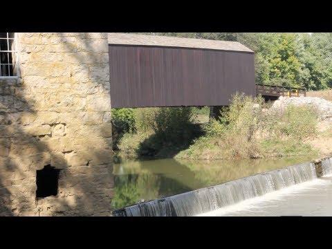 Visit the oldest covered bridge in Missouri
