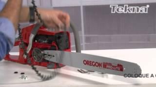Dicas de motosserras -- Veja como montar a motosserra Tekna