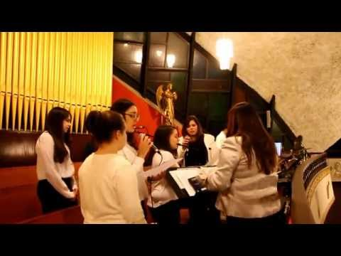 NATALE NOEL CHOIR OF POMPEI CHURCH MONTREAL 24 12 2014