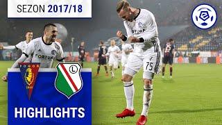 Pogoń Szczecin - Legia Warszawa 1:3 [skrót] sezon 2017/18 kolejka 15