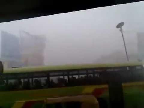 Heavy rain in Hubli Channama circle