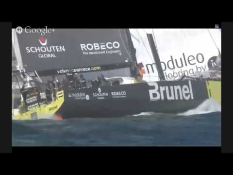 Volvo Ocean Race ao vivo - Port Race