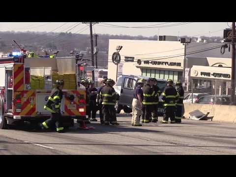 Little Falls NJ Accident on Route 46 East bound closes highway for hours