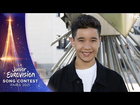 LEVI DÍAZ - 'REÍR': LYRIC VIDEO | Eurovisión Junior 2021
