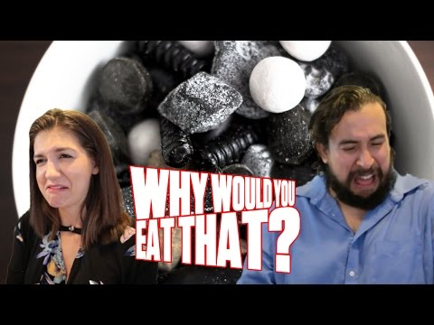 Super-Salty Licorice aka Salmiakki - Why Would You Eat That?