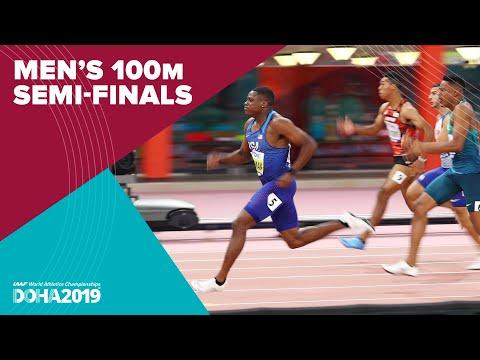 Men's 100m Semi-Finals | World Athletics Championships Doha 2019