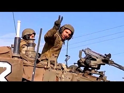 Israeli Troops Mass On Gaza Border