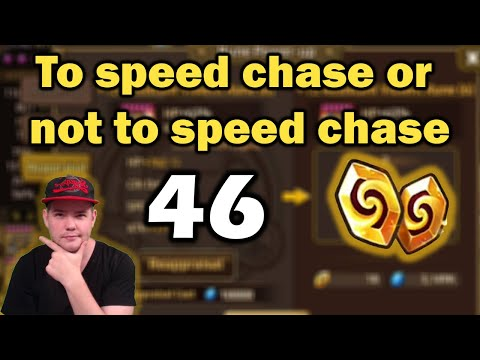 46 Reapps - To Speed Chase or Not to Speed Chase?! Let me explain you! - Summoners War