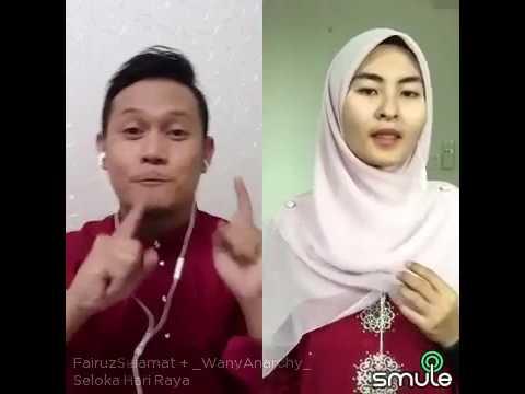 Seloka Hari Raya- Fairuz Selamat & Wany Hasryta - Smule Cover