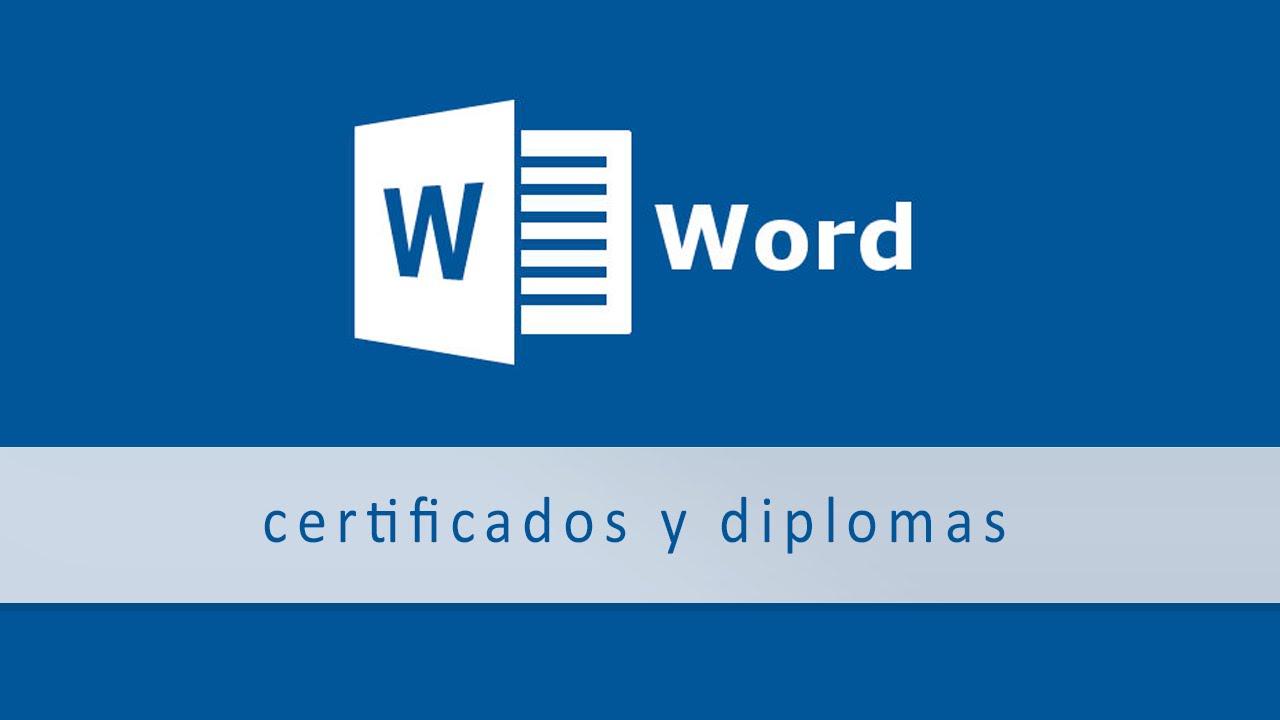 Certificados Y Diplomas Automáticos Gracias A Las