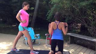 How-To #3: How To Do Lunges, Squat Thrusts, Crunches