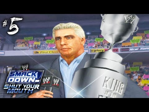 KING OF THE RING!!   Smackdown Shut Your Mouth (Season Mode)