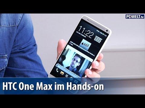 HTC One Max im Hands-on | deutsch / german