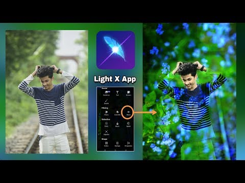 Lightx App Just 1 Tricks || Best Nature Hd Photo Editing 2019 _ Lightx App Photo Editing