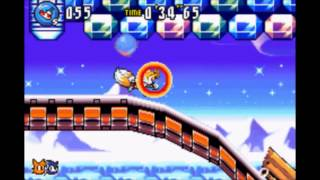 "Sonic Advance 3 - Twinkle Snow 1: 37""52 (Tails + Sonic) (Speed Run)"