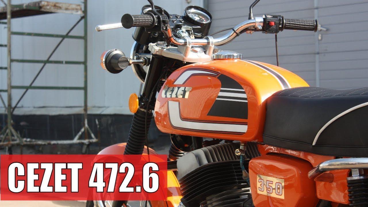 Восстановить Chaset 472 Jetty 472 Мотоцикл. Мотосалон Retrocycle    Чезет Мотоцикл