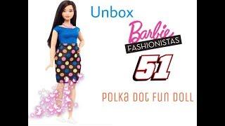Mở hộp búp bê Barbie Fashionistas số 51