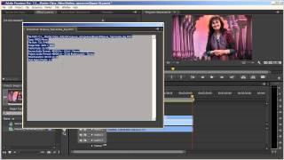 Создание видеозаписи, Видеоурок № 2, Adobe Premiere Pro CS6, 28.02.2014