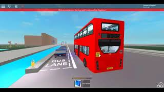Roblox London Hackney & Limehouse bus Simulator First Day E400H (euro 6) Demostrator SLN Route 205