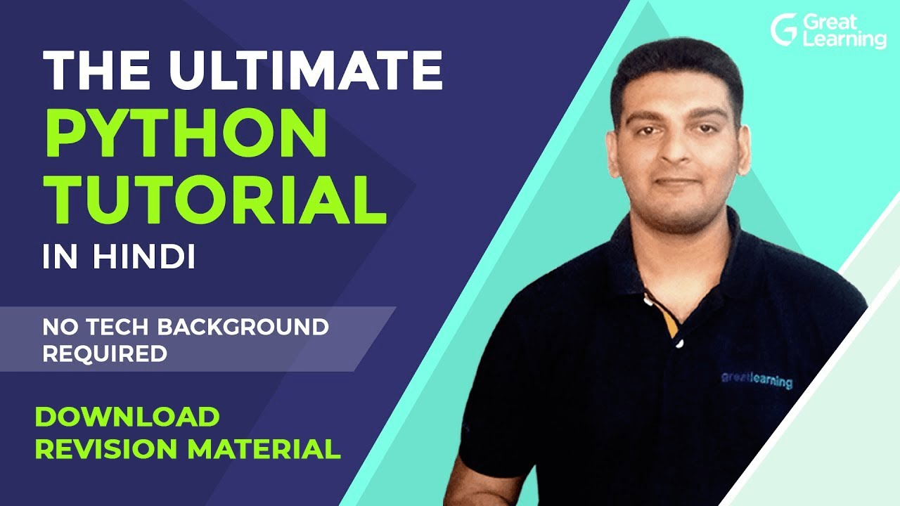 Ultimate Python Tutorial for Everyone   Learn Python In Hindi   Python for Beginners