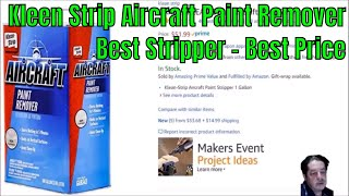 Kleen Strip Aircraft Paint Remover and How To Use