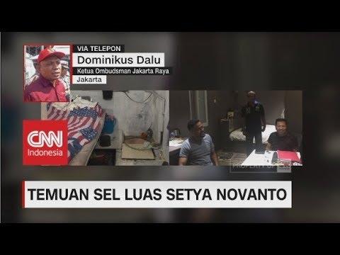 Ombudsman: Sel Mewah Tempat Setya Novanto Berbeda dengan yang Disidak Najwa Shihab