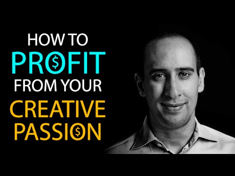 How To Profit From Your Creative Passion @EvanCarmichael