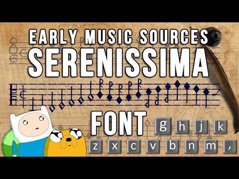 Font Serenissima