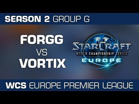 ForGG vs. VortiX - Group G Ro32 - WCS European Premier League - StarCraft 2