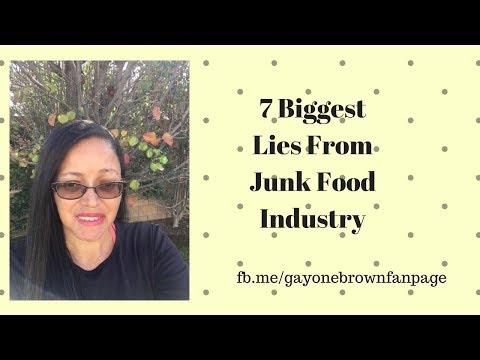 7 Biggest Lies From the Junk Food Industry