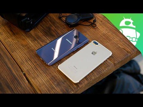 Samsung Galaxy S8 Plus vs Apple iPhone 7 Plus Quick Look
