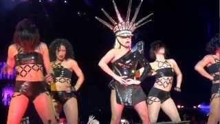 LADY GAGA - LOVE GAME / TELEPHONE  (BORN THIS WAY BALL TOUR LONDON 2012) FULL HD